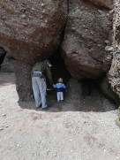 exploring the ocean floor and rocky caves
