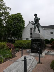 Monument to the local soldiers in WWI
